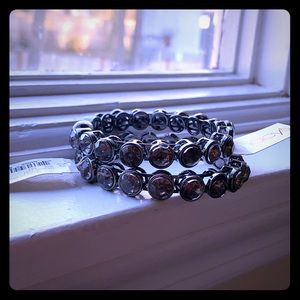 Beautiful, grey stone, magnetic bracelets